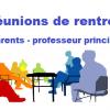 Rencontre parents - professeur principal  classe de 6ème et 3ème